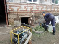 В Любытинском районе осушили 11 домов, пострадавших от ливней