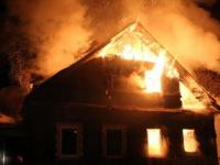 В Маревском районе на пожаре в частном доме погиб мужчина