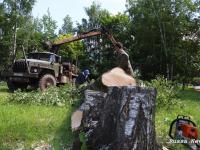 В Старой Руссе готовят место для установки стелы