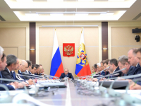 Владимир Путин провел встречу по развитию цифровой экономики. В заседании принял участие Андрей Никитин