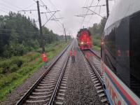 Андрей Никитин прокомментировал «России 24» задержку поездов в Окуловском районе