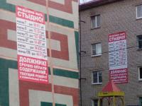 Баннеры позора: кампания по публичному вывешиванию долгов охватила Трубичино и Подберезье