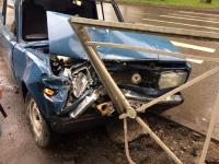 Фото очевидца: на Большой Санкт-Петербургской серьезно столкнулись «Тойота» и «семерка»