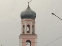 Фото: в Валдае свернуло крест на соборе и другие последствия урагана