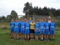 Футболисты из парфинской деревни играют в Волгограде на финальном турнире «Кожаный мяч»