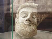 Голова античной статуи, новгородское зеркало и другие находки археологов этого сезона выставлены в Москве