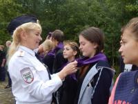 Новгородские дети познают тонкости жизни полицейского