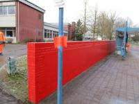 Новгородские дизайнеры распишут кирпичную стену у городской гимназии Билефельда
