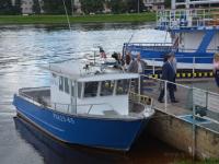 Новгородское отделение «ГОСНИОХР» получило судно для научной деятельности