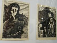 В новгородском «Диалоге» экспонируются иллюстрации к Булгакову и «Авторуины»