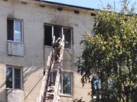 В пожаре на проспекте Корсунова погиб кот. Спасли двух человек