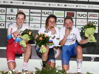Воспитанница велосекции новгородской гимназии №2 завоевала два серебра на первенстве мира в гонке на треке
