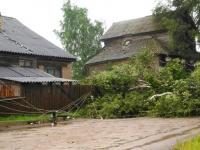 Жители Боровичского района делятся впечатлениями от вчерашнего урагана