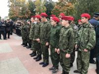 215 новгородских школьников вступили в «Юнармию»