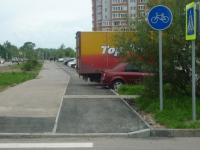 Долгожданная велодорожка на Нехинской улицеразочаровала тех, кто её ждал