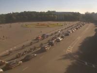 Фото: на закрытии мотосезона через Великий Новгород проехала огромная колонна байкеров