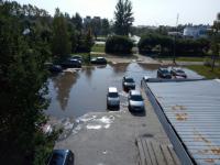 Фотофакт: Великий Новгород тонет в лужах