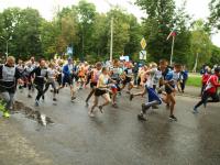 Фоторепортаж с «Кросса Нации» в Великом Новгороде