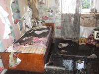 Фоторепортаж с пожара в Поддорье, унесшего жизни трех маленьких детей