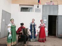 Избиратели Прогресского поселения показали уникальную активность, с утра образовав очередь