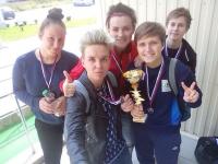 Новгородки из «Бабчестера» выиграли серебро на домашнем турнире по мини-футболу