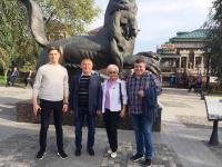 Одной из первых командировок нового вице-мэра Александра Матюнина стала поездка в Иркутск в хорошей компании
