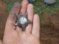 Поисковики установили имя героя, которому принадлежал боевой орден, найденный на днях в Парфинском районе