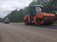 Ремонт крестецкого участка дороги на Боровичи должен завершиться к 25 сентября