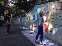 «Свободную тему» новгородского музея откроют участницы росписи стены дружбы в Билефельде