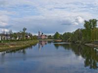 В бетон оденется река Полисть в Старой Руссе