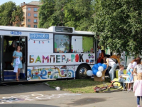 В Чудово приедет знаменитый книжный автобус «Бампер»