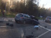В Крестецком районе в крупном ДТП погиб мужчина