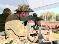 В заброшенной парфинской промзоне продолжается противостояние России и НАТО