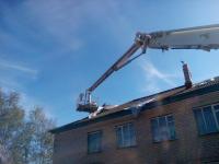 В Поддорье в три дня планируют восстановить пострадавшие от урагана дома
