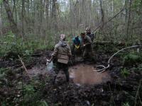 В ста метрах от памятника 2-й ударной армии новгородские поисковики нашли останки 12 солдат