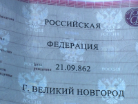 В Великом Новгороде к Дню российской государственности появились необычные плакаты