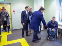 В Великом Новгороде открылся банк, удобный для инвалидов