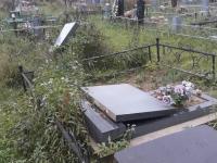 Вандалы разворотили могильные плиты на кладбище в Пестове