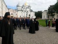 Великий Новгород отмечает День зарождения российской государственности
