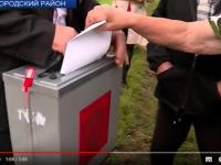 Видео: НТ показало, как выбирают в деревне Хотяж губернатора Новгородской области