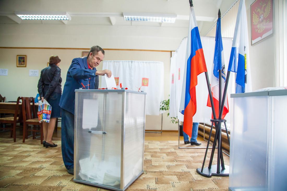 На 15 часов явка в голосовании на выборах в Думу Великого Новгорода составила 15,71%