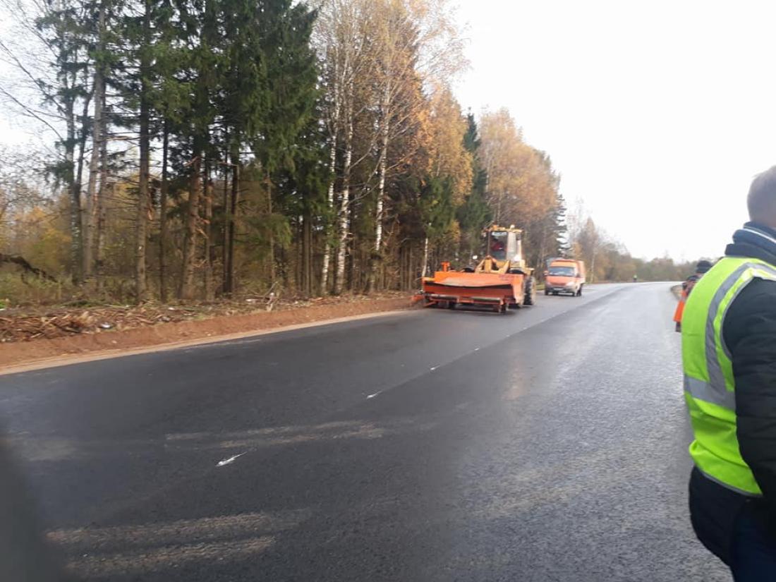 В вологодской Устюжне отремонтируют дорогу, по которой идет поток транспорта из Новгородской области