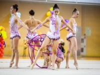 Фото: гимнастки из разных городов красиво сразились в Великом Новгороде