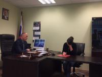 Глава регионального управления Следственного Комитета встретился с мамой погибшей девочки