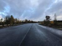Губернатор опубликовал фото отремонтированной дороги между Крестцами и Окуловкой