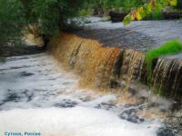 Новгородец рассказал о карамельном водопаде в Сутоках и показал, как до него добраться