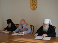 Новгородская митрополия подписала соглашение о сотрудничестве с Росгвардией