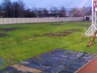Подрядчик строительства третьей очереди новгородского стадиона «Электрон» не вышел на работу