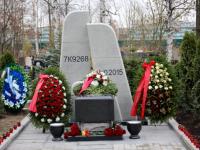 На Серафимовском кладбище Санкт-Петербурга открыли памятник погибшим в авиакатастрофе над Синаем