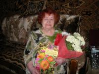 Сегодня Полине Николаевне Докучаевой из Старой Руссы исполнился 101 год